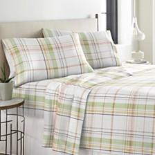 Pointehaven Heavy Weight Cotton Flannel Sheet Set King