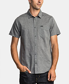 RVCA Men's Balance Slim-Fit Jacquard Shirt