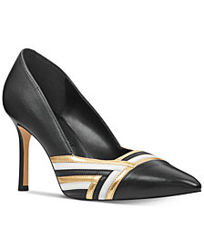 Nine West Eugene Woven Pumps