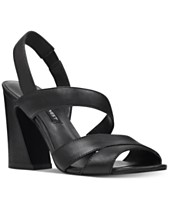 7097585b1f64 Nine West Nohemi Flare Heel Sandals