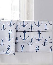 Anchors Twin XL Sheet Set