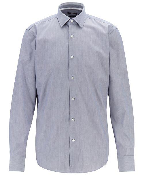 Hugo Boss BOSS Men's Regular/Classic Fit Cotton Poplin Shirt