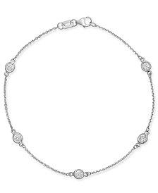 Diamond Bezel Link Bracelet (1/2 ct. t.w.)