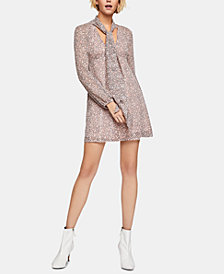 BCBGeneration Metallic A-Line Dress