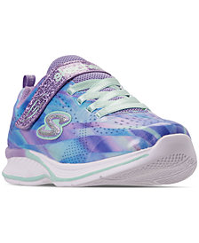 Skechers Little Girls' Jumpin Jams - Dream Runner Athletic Sneakers from Finish Line