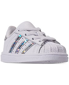 adidas Toddler Girls' Originals Superstar Sneakers from Finish Line