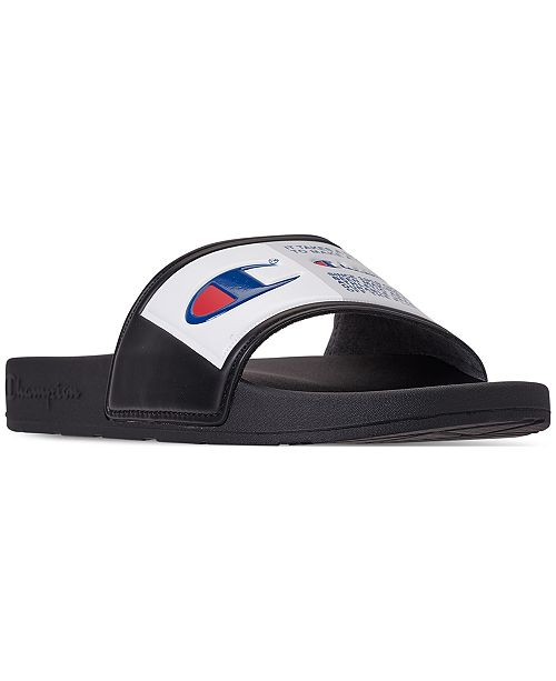 c0841975079 Champion Men s IPO Jock Slide Sandals from Finish Line   Reviews ...