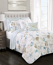 Harbor Life 7-Pc Set Full/Queen Quilt Set