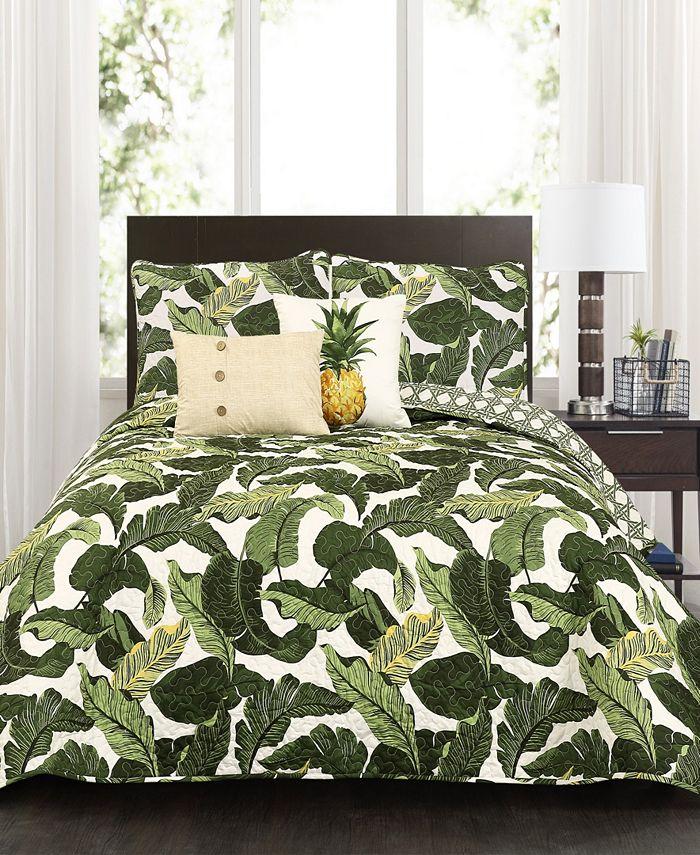 Lush Décor - Tropical Paradise 5-Pc. Quilt Sets