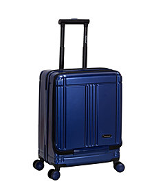 """Rockland Tokyo 18"""" Polycarbonate Spinner Laptop Carry On"""