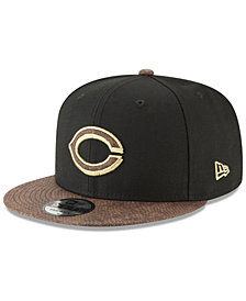 New Era Cincinnati Reds Gold Snake 9FIFTY Snapback Cap