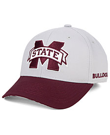 adidas Mississippi State Bulldogs Coaches Flex Stretch Fitted Cap 2018