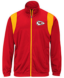 G-III Sports Men's Kansas City Chiefs Clutch Time Track Jacket