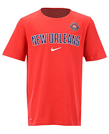 Nike New Orleans Pelicans Facility T-Shirt, Big Boys (8-20)