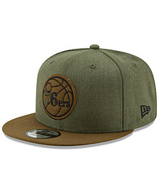 New Era Philadelphia 76ers Enlisted 9FIFTY Snapback Cap