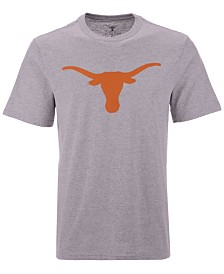 New Agenda Men's Texas Longhorns Big Logo T-Shirt