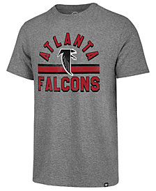 '47 Brand Men's Atlanta Falcons Team Stripe Match Tri-blend T-Shirt