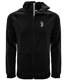 Level Wear Juventus Men's Club Team Fortress Banner Full-Zip Hoodie