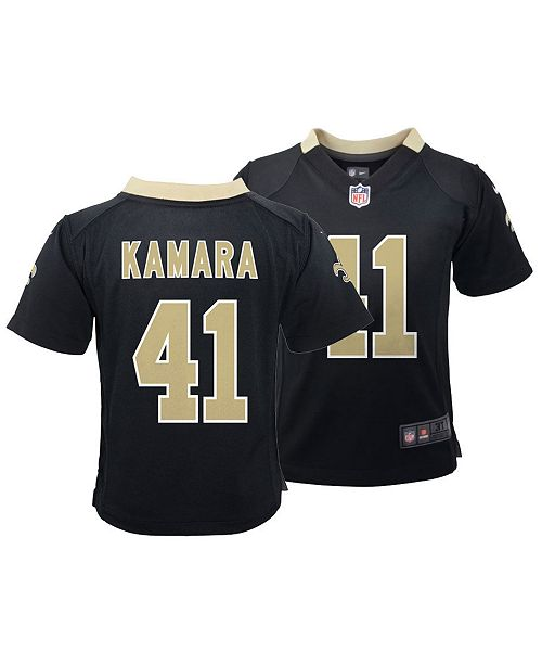 8e8ffa74b50 Nike Alvin Kamara New Orleans Saints Game Jersey