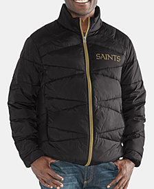 G-III Sports Men's New Orleans Saints The Blitz Player Front Zip Jacket