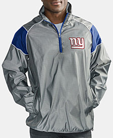 G-III Sports Men's New York Giants Fade Player Lightweight Pullover Jacket