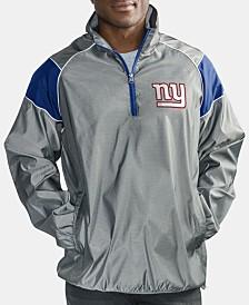 G-III Sports Men's New York Giants Fade Player Lightweight Pullover Jacket