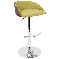Lumisource Shiraz Adjustable Barstool