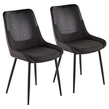 Lumisource Wayne TwoTone Chair Set of 2
