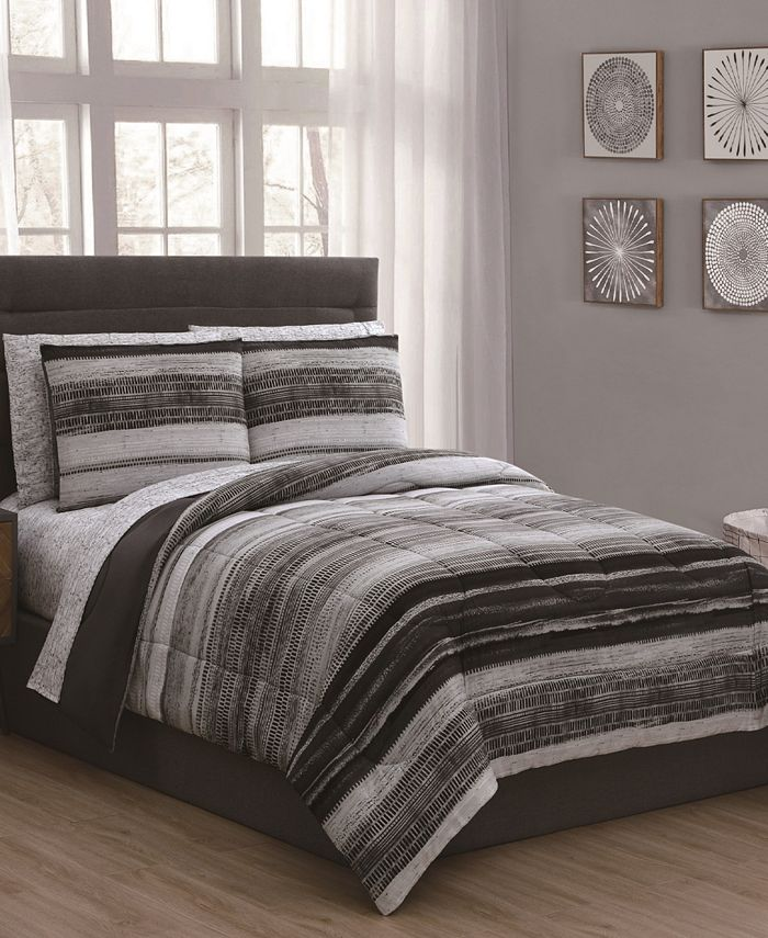 Geneva Home Fashion - Laken 7-Pc. Bed in a Bag Collection