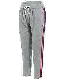 Varsity-Stripe Ankle Pants
