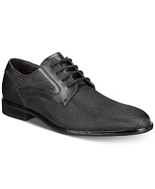 Alfani Men's Alfatech Jaret Nylon Plain-Toe Shoes, Created for Macy's