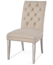 Cutler Upholstered Back Parsons Chair