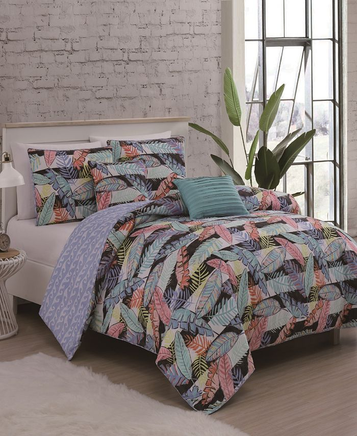 Geneva Home Fashion - Bellamy 5pc King Comforter Set