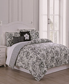 Carlotta 6-Pc Queen Comforter Set