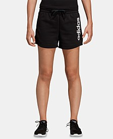Women's Linear Logo Shorts