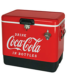 Coca-Cola Stainless Steel Ice Chest
