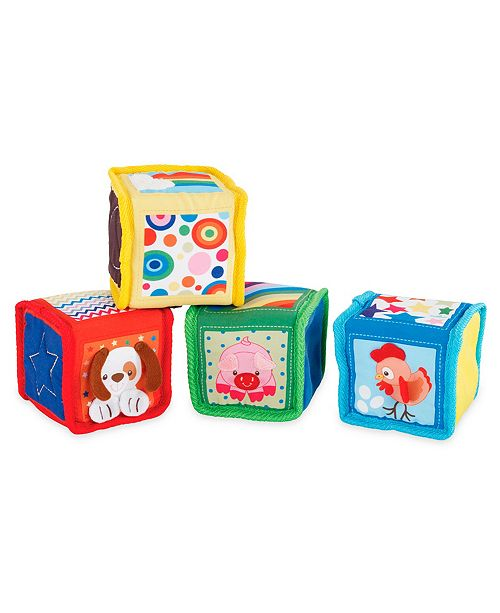 Fundamental Toys Earlyears Soft Baby Blocks Kids Macy S
