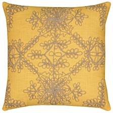 "18"" x 18"" Medallion Pillow Cover"
