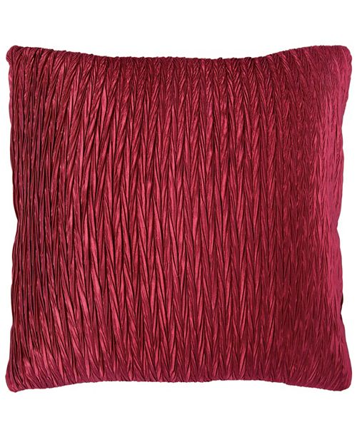 """Rizzy Home 18"""" x 18"""" Striped Pillow Cover"""