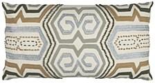 "14"" x 26"" Geometrical Design Pillow Cover"