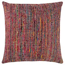 """22"""" x 22"""" Textured Stripe Pillow Cover"""