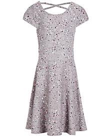 Epic Threads Super Soft Big Girls Paint-Splatter Printed Dress, Created for Macy's