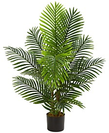 Nearly Natural 4' Paradise Palm Artificial Tree