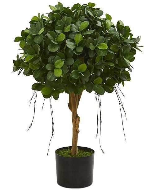 Nearly Natural 2.5' Panda Ficus Artificial Tree
