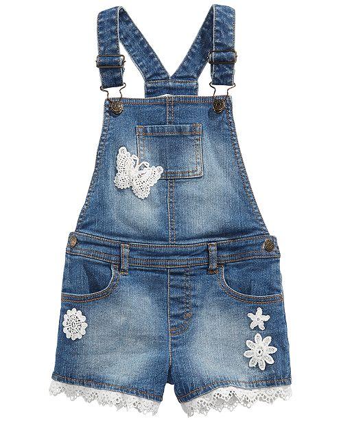 7c1446dd278 ... Epic Threads Toddler Girls Embroidered Denim Shortalls