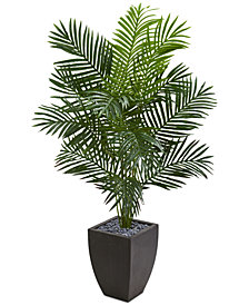 Nearly Natural 5.5' Paradise Artificial Palm Tree in Planter