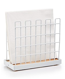 Martha Stewart Collection White Napkin Holder, Created for Macy's