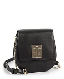 Céline Dion Collection Leather Minuet Flap Handbag