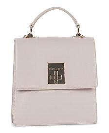 Céline Dion Collection Leather Minuet Handle Bag