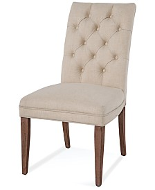 Lilah Upholstered Back Parsons Chair